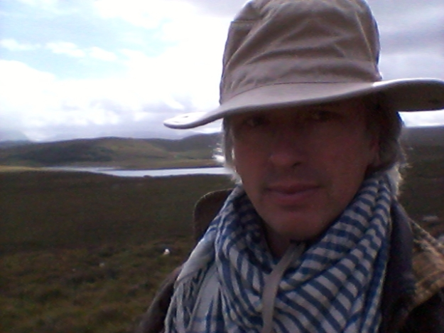Bard on foot - trekking in the Highlands